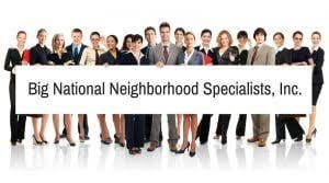 Big National Neighborhood Specialists
