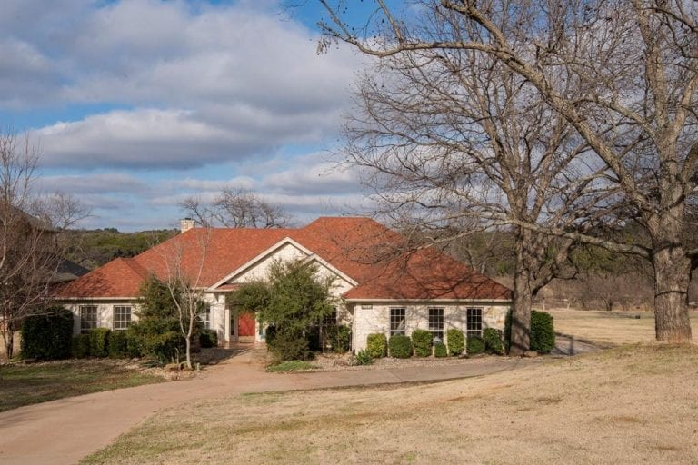 New Listing: Riverfront home for sale in Granbury, Texas